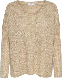 Only Onlnew Miramar L//S Pullover Felpa Donna