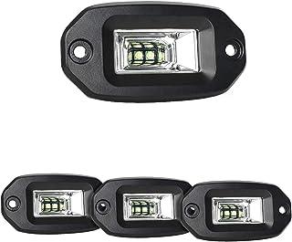 CXJYBH 1Pcs Auto Fuoristrada luci di azionamento del Lavoro fari SUV Offroad Lampada della Nebbia di Luce Faretti Lampadina 4x4 Fuoristrada Fari
