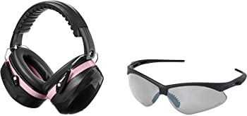 AmazonBasics Safety Ear Muffs with Safety Glasses