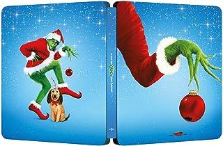 【Amazon.co.jp限定】グリンチ 20th アニバーサリー 4K Ultra HD+ブルーレイ スチールブック仕様[4K ULTRA HD + Blu-ray]