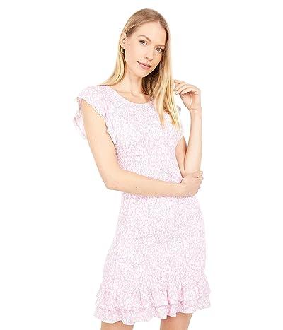 LOST + WANDER Lets Go To Paris Mini Dress (Pink/White Floral) Women
