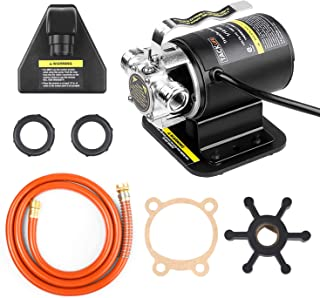 TACKLIFE Water Transfer Pump, 264GPH, 1/10 HP Pump with Copper Motor, Portable, Ideal for Fishbowl and Sink