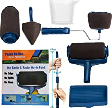 7pcs Paint Roller Brush Kit, Multifunctional Paint Rollers, Paint Runner Pro, Wall Printing Brush Set Quick & Easy Decorat...