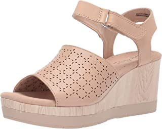 CLARKS Women's Cammy Glory Wedge Sandal
