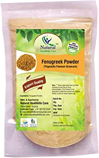 Natural Healthlife Care Fenugreek Powder Trigonella Foenum Powder- Methi Powder For Long Hairs Naturally (100 gm (0.22 lb) 3.5 ounces)