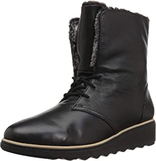 Best black lace up winter boots Reviews