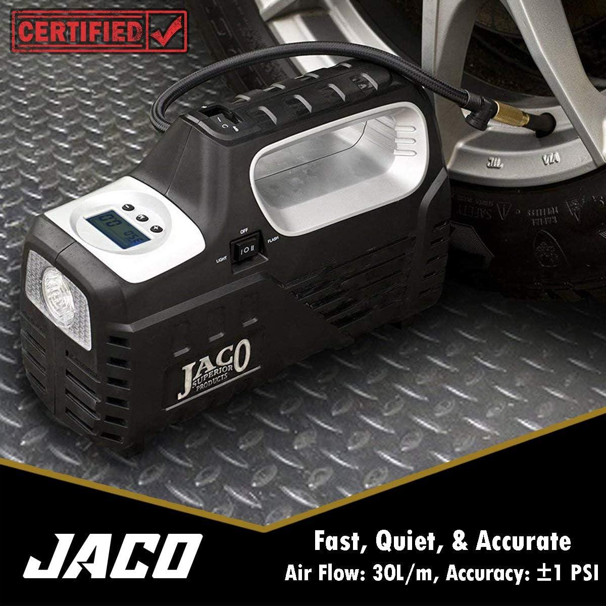 JACO SmartPro 2.0 AC/DC Digital Tire Inflator