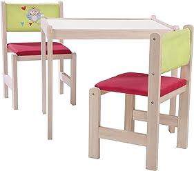 roba-kids Banco para ni/ños de madera natural Roba Baumann 50763 color azul marino