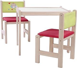 roba-kids-50710V150 Set de Mesa, Silla y Banco de Juego de