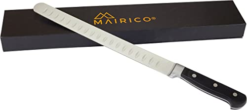 new arrival MAIRICO Ultra Sharp outlet sale Premium 11-inch wholesale Stainless Steel Carving Knife - Ergonomic Design - Best for Slicing Roasts, Meats, Fruits and Vegetables sale