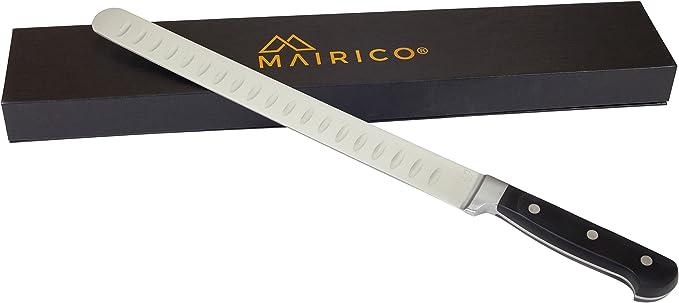 MAIRICO Ultra Sharp Premium Stainless Steel Carving Knife – Best Value Brisket Knife