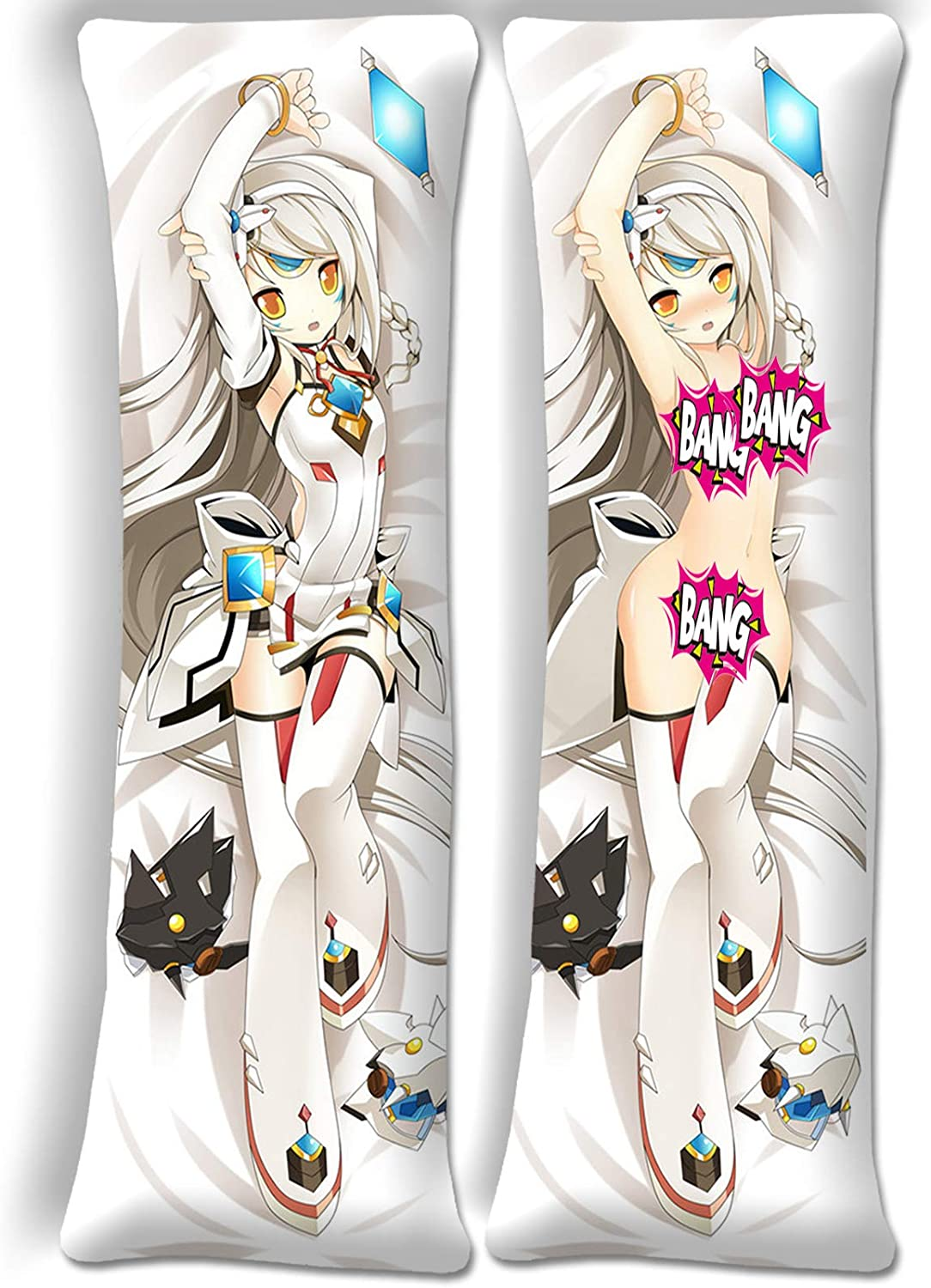 HappyShip Safety and trust Elsword Eve Body Pillow Cover 62.9 Pillowcase 19.6in New popularity x