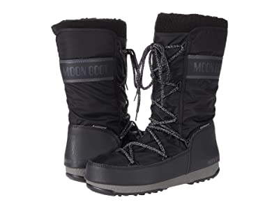 MOON BOOT Moon Boot(r) Monaco Wool WP (Black) Women