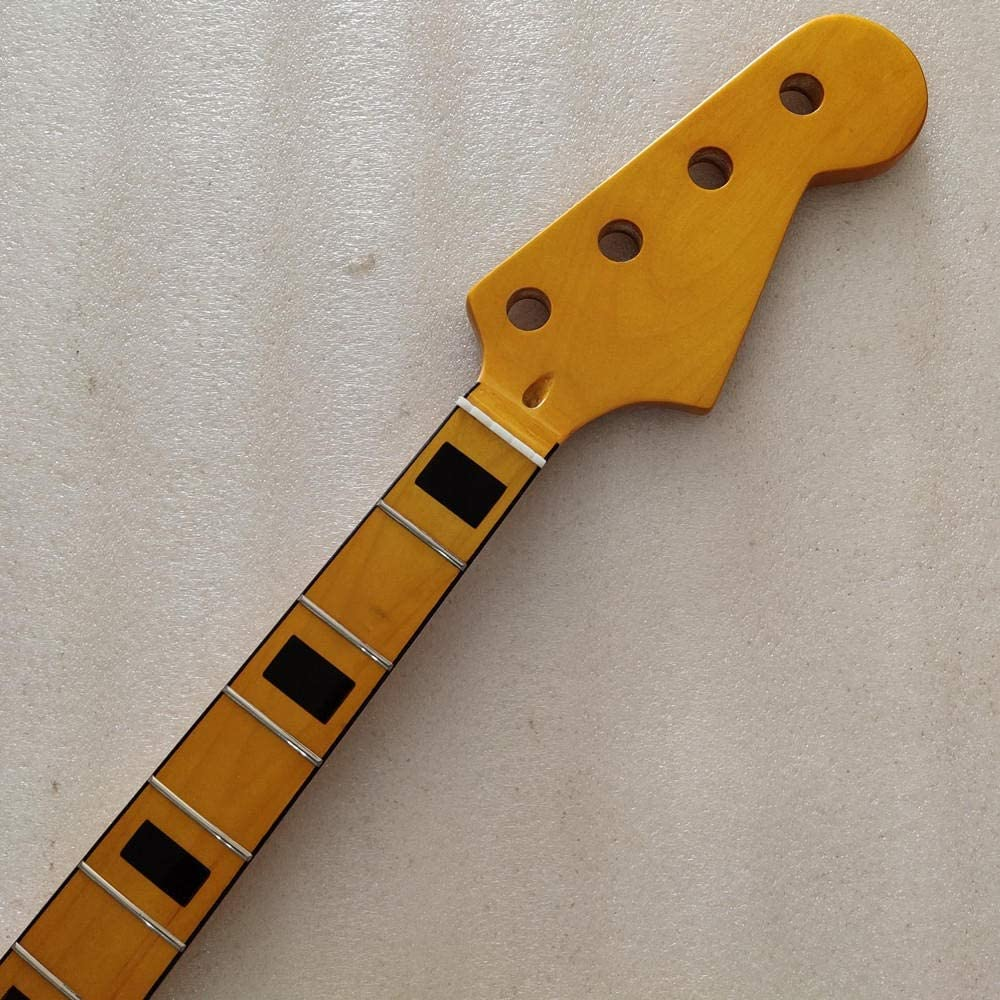 LYNLYN Guitars Guitar Pick Yellow Atlanta Mall Gloss online shop Bass Maple Frets Guit 20