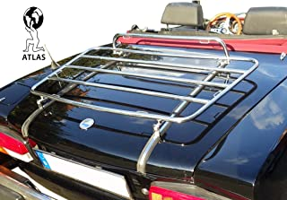 Fiat Chrome Luggage Rack Compatible 124 Spider 124 | Tailor Made & Perfect fit | TÜV Tested | OEM Quality