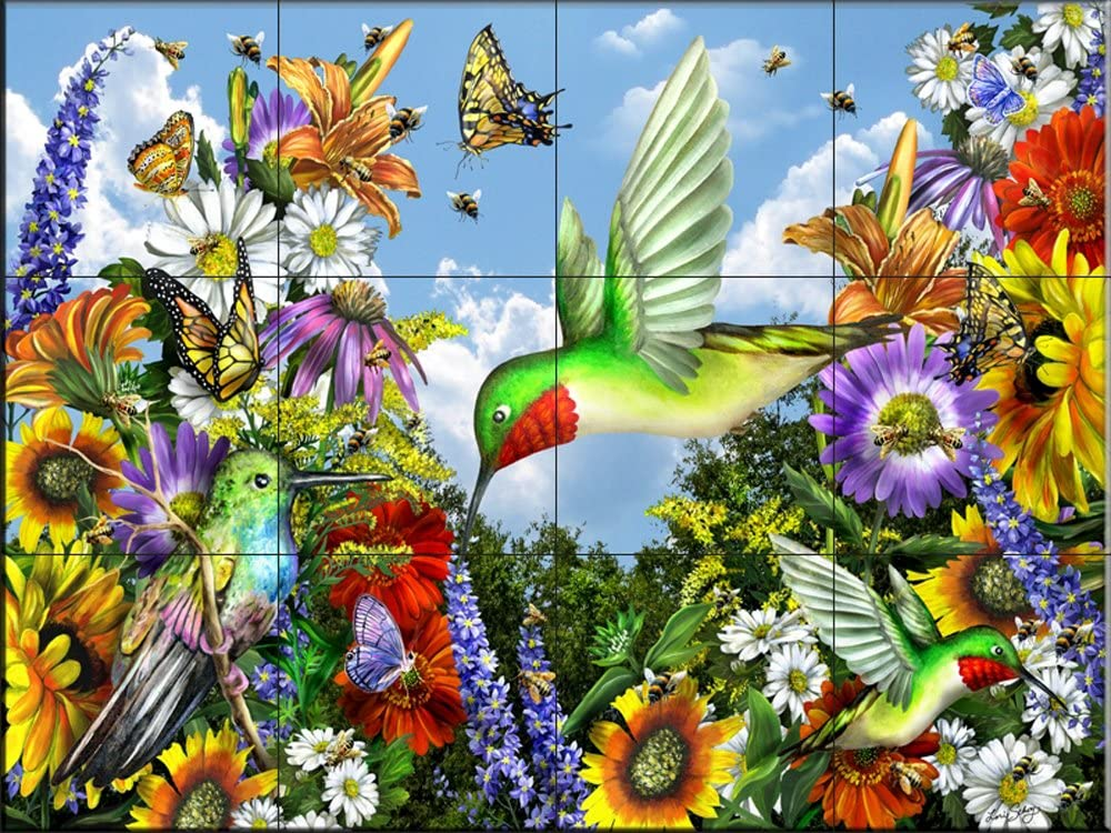 Ceramic Tile Max 55% OFF Mural - Save Lori Department store Schory by The Bees