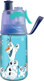 O2COOL® Licensed ArcticSqueeze® Insulated Mist 'N Sip® Squeeze Bottle 12 oz., Olaf