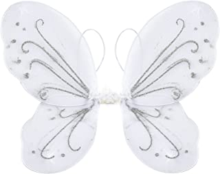 Yuxi Butterfly Wings Costume Toddler Dress Up Fairy Wings for Girls Halloween Angel Wings Costume Accessories