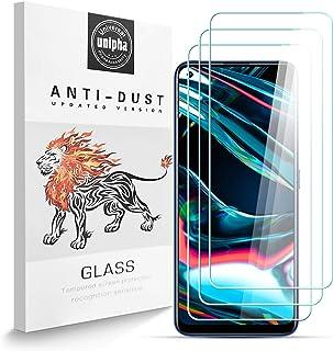 Zidwzidwei Skärmskydd för Realme 7 Pro [3-pack], 9H hårdhet härdat glas, 2,5D högupplöst film, bubbelfri, reptålig Realme ...