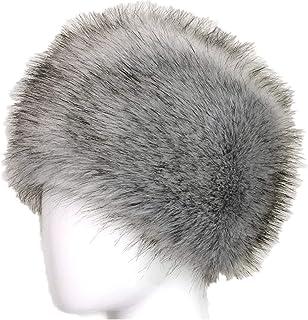 ed5c6296cc650 Bomber Hats Faux Fox Fur Trapper Hat Cossack Style Russian Winter Hats Warm  Cap
