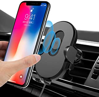 Wireless Car Charger Mount with Auto-Clamping,Tobeape Car Phone Holder Mount with 15w Fast Charging, 360 ° Car Phone Holde...