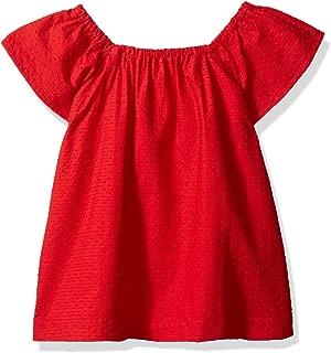 Gymboree Girls' Big Short Sleeve Woven Dress