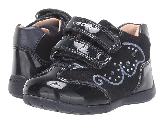Geox Kids  Kaytan 60 (Infant/Toddler) (Dark Blue) Girls Shoes