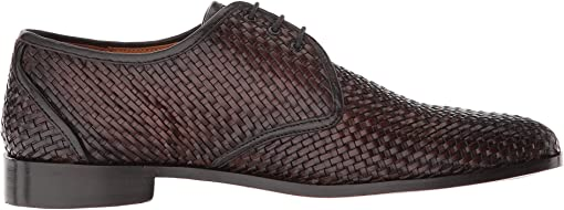 Chocolate Woven Calf Leather