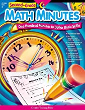 Creative Teaching Press Math Minutes, Grade 2 (One Hundred Minutes to Better Basic Skills)
