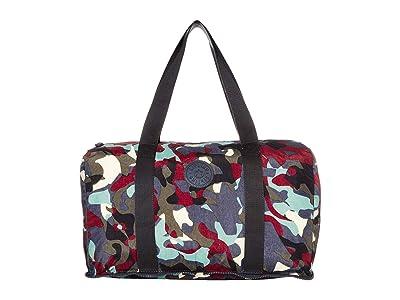 Kipling Honest Foldable Duffel Bag (Camo) Handbags