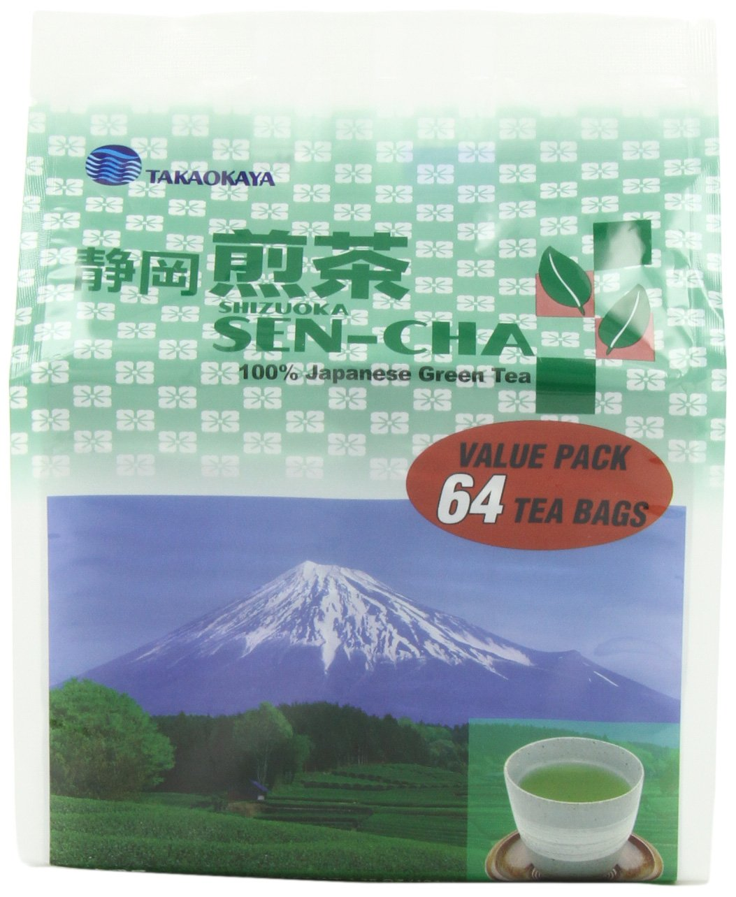 Takaokaya Tea T Green Sencha shipfree TeaBags 4 64-Count Special sale item Pack Units of