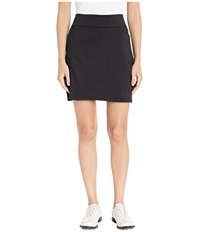 adidas Golf Ultimate Knit 18 Skort (Black) Women