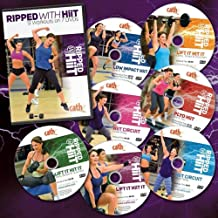 Cathe Friedrich's Ripped with HiiT Discount Bundle: 9 workouts on 7 DVDs