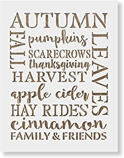 Best fall stencils for painting Reviews