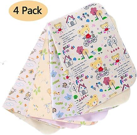 multifunktionale wasserdichte tragbare Kid Home Wickelunterlage Matratze Erwachsene Inkontinenz Pad 3 Pack Tragbare Wickelunterlage f/ür Babys 50x70 cm Wickelauflage f/ür Babywindeln