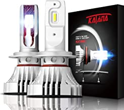 KATANA H7 LED Headlight Bulbs - CREE Chips w/Adjustable Beam - 12000Lm 6500K Extremely Bright Conversion Kit