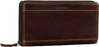 STILORD 'Lynn' Billetera RFID Piel de Mujer Cartera Vintage para Mujeres Monedero de Protección NFC con Cremallera en Caja...