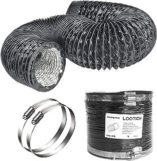black ducting hose