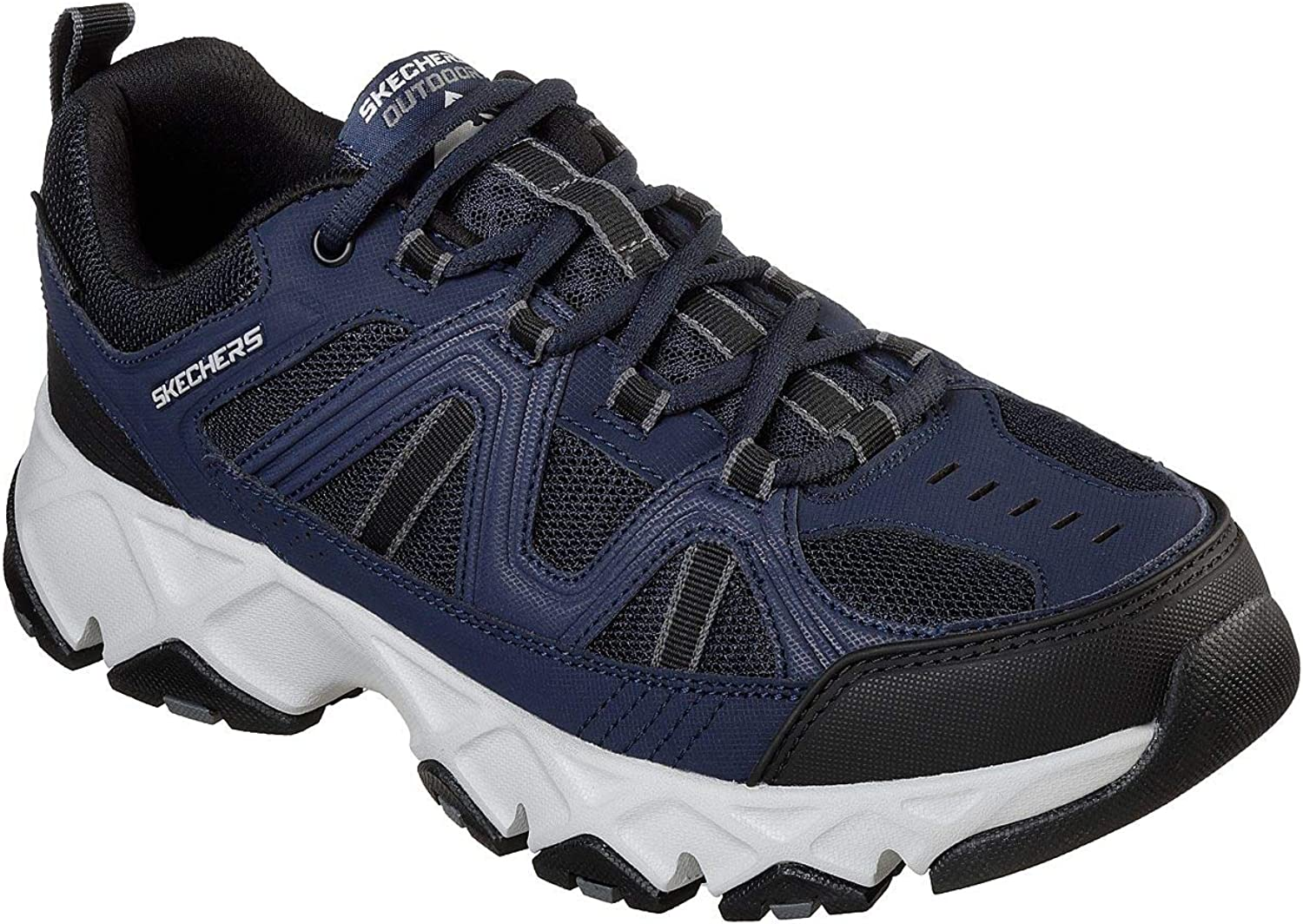 Skechers Men's Crossbar Navy/Black 12 EE US EE - Wide B079RJS13Z  | Luxus