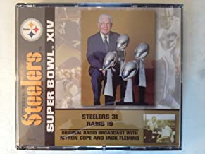 Pittsburgh Steelers Super Bowl XIV Original Radio Broadcast with Myron Cope and Jack Fleming