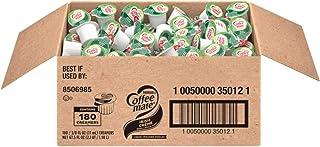 Nestle Coffee mate Coffee Creamer, Irish Creme, Liquid Creamer Singles, Box of 180 Singles