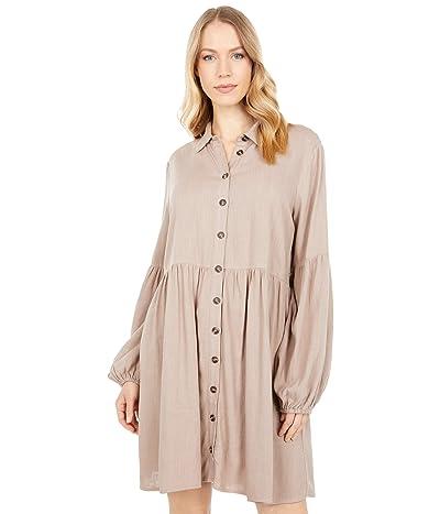 LOST + WANDER Weekend Bliss Mini Dress (Almond) Women