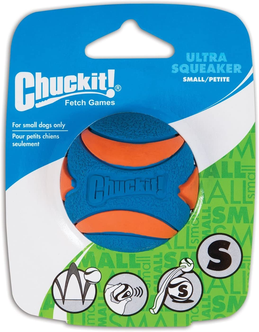 Chuckit Ultra Manufacturer regenerated product Squeaker Ball Dog Toy 2