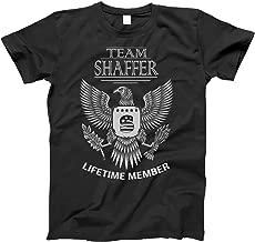 Team Shaffer Lifetime Member Family Surname T-Shirt for Families with The Shaffer Last Name