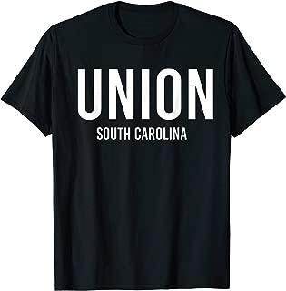UNION SOUTH CAROLINA SC USA Patriotic Vintage Sports T-Shirt