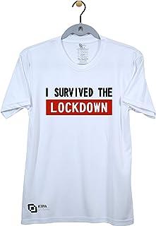 KIPA I Survived Lockdown Partyware Tshirt - 212