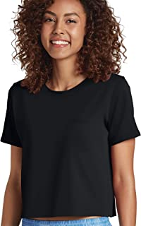 Women's Tops Signature Modern Mix Cropped Heather Tee