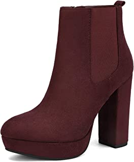 women's high ankle chelsea boots