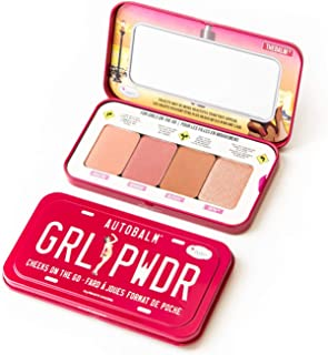 TheBalm Autobalm Cheeks OnThe Go Palette (4x Cheek Colour) - # Grl Pwdr 8g/0.28oz
