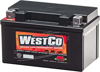 WestCo 12VX4L-B Replacement by SigmasTek Brand AGM Maintenance Free
